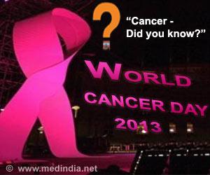 World Cancer Day - 2013