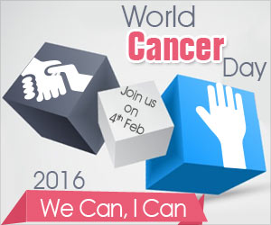 World Cancer Day 2016 'We Can, I Can'