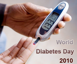 "World Diabetes Day 2010 - ""Let's Take Control of Diabetes Now"""