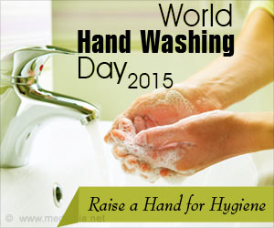 "World Hand Washing Day 2015 - ""Raise a Hand for Hygiene"""