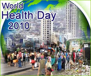 World Health Day 2010 - 'Urbanism and Healthy Living'