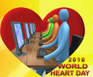 "World Heart Day 2010 - ""Workplace Wellness: Take Responsibility for Your Own Heart"""