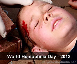 World Hemophilia Day 2013