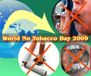 World No Tobacco Day 2009