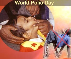 World Polio Day - 'Stop Polio Forever'