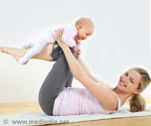 Look, My Baby Goes Gaga Over Yoga!