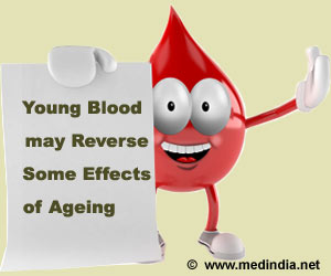 Injecting Young Blood may Reverse Some Effects of Ageing