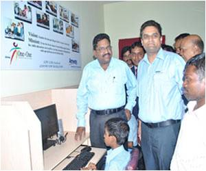 Blind Children Benefit from Amway India's Free Computer Center