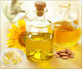 Fat contents in vegetable oil and ghee