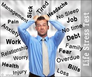 Life Stress Test Life Stressor Chart