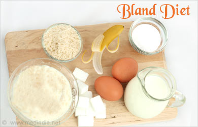 Bland Diet Foods For Ulcers