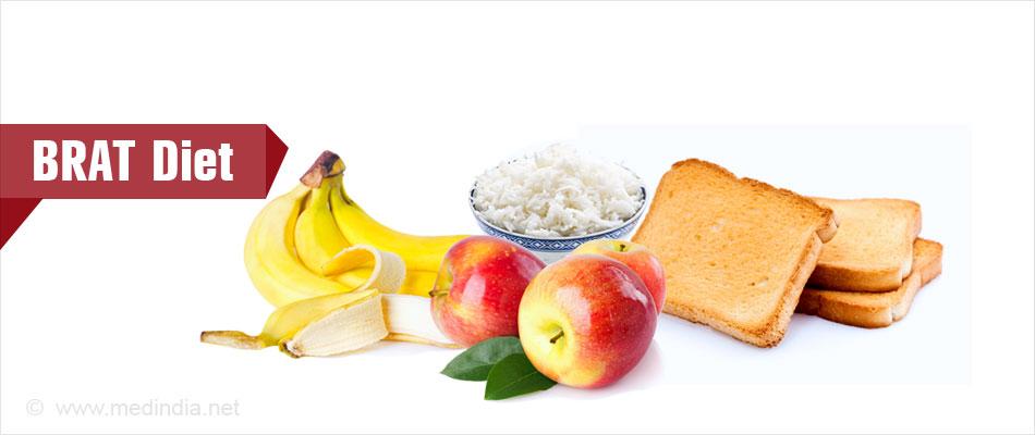 BRAT Diet (Bland Diet) - Best for Treating Diarrhea