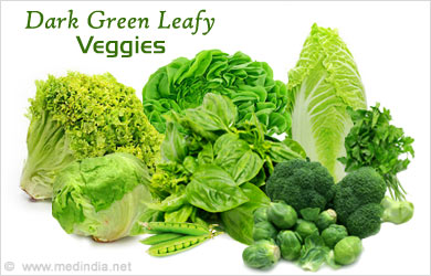 Dark Green Leafy Veggies - A Dietary Must