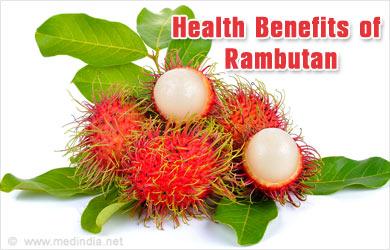 healthy fruits for hair rambutan fruit