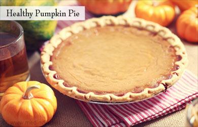 Make Healthy Pumpkin Pie Using Almond Flour