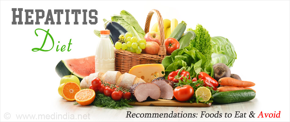 Hepatitis Diet Recommendations: Foods to Eat and Avoid