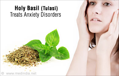 Holy basil and anxiety