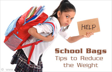 How to Reduce School Bag Weight