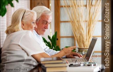 Senior Citizens Get Tech Savvy To Get Over Depression