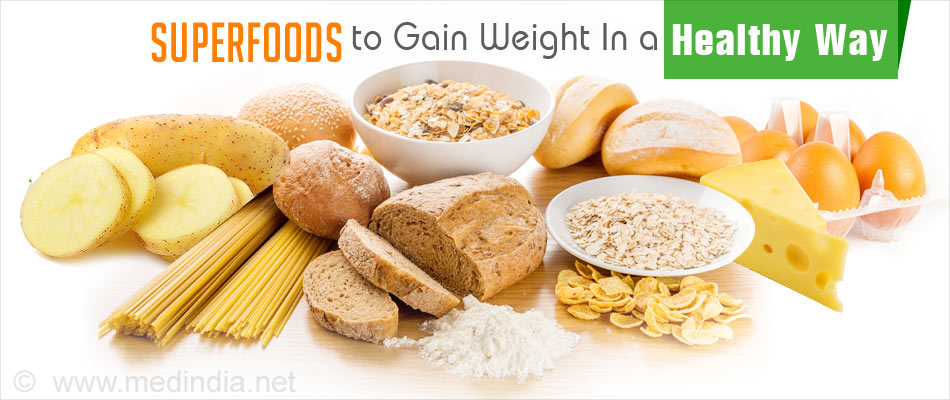 7b104b5f81e Top 7 Superfoods to Gain Weight In a Healthy Way