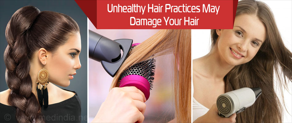 Unhealthy Hair Practices can Lead to Hair Loss