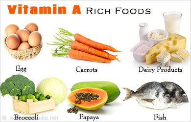 Two Good Food Sources For Vitamin A