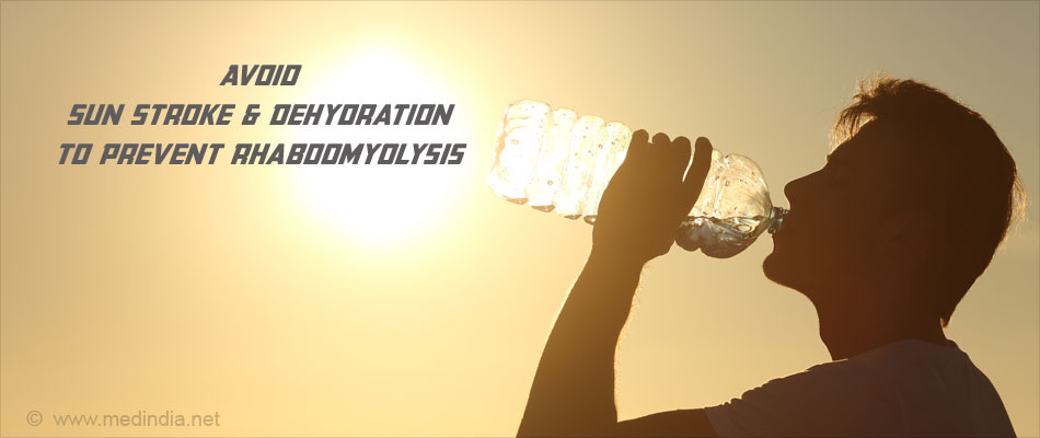Adequate Fluid Intake is Important to Manage Rhabdomyolysis