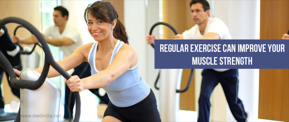 Exercise Regularly to Strengthen your Muscles