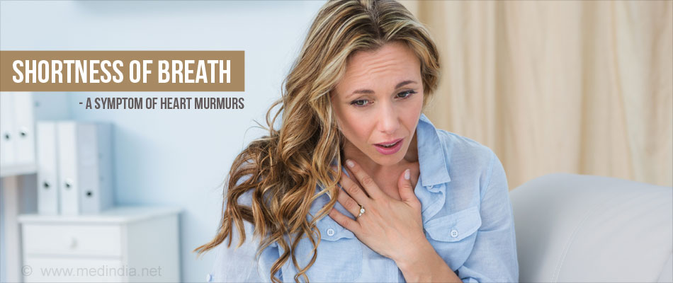 What are the common symptoms of heart murmurs in women?