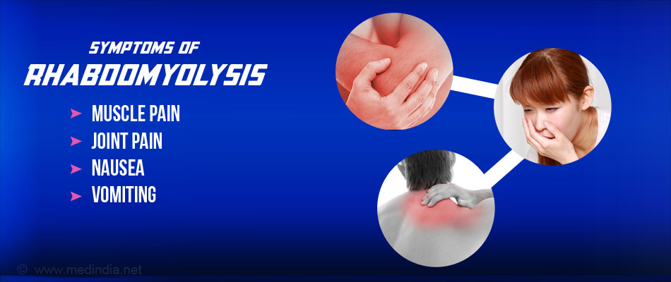 Symptom of  Rhabdomyolysis - Joint pain
