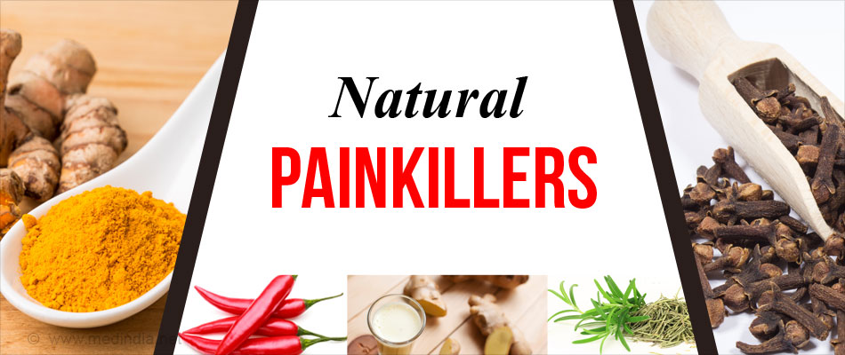 Top 15 Natural Painkillers