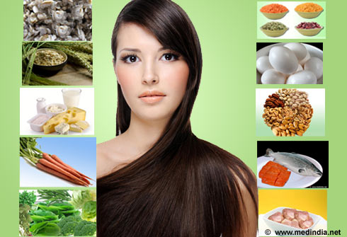 Top Ten Foods for Healthy Hair/ Diet for Healthy Hair