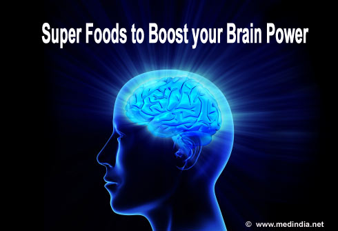 Ten Super Foods to Boost your Brain Power