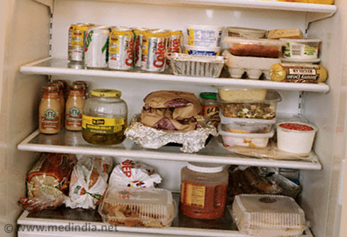 I Stored Food In The Refrigerator
