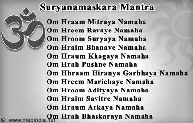 surya namaskar / sun salutation  print